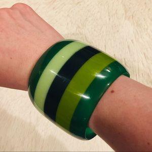 Anthropologie Resin Bangle Bracelet